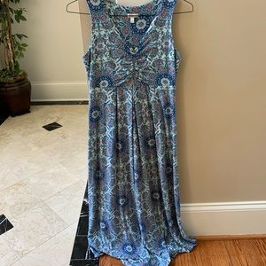 women's size small talbots maxi dress